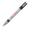 Dekormarker UNI POSCA PC-3M 0.9-1.3 mm, kúpos, EZÜST