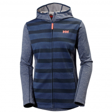 Helly Hansen W Graphic Fleece Hoodie Polár D (51007-p_689 Evening Blue)