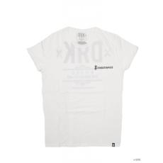 Dorko Unisex Rövid ujjú T Shirt WHITE DRK BACK TEE