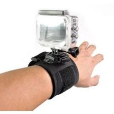 Sec-CAM SJ/GP-90, elasztikus, CSUKLÓ HEVEDER, 360 fokban FORGATHATÓ - SJCAM és GoPro akciókamerákhoz -SJCAM SJ4000, SJ5000, X1000 sorozatokhoz videókamera kellék