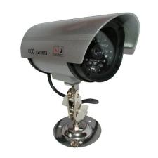 Sec-CAM DUMMY01C kültéri infrás biztonsági megfigyelő kompakt álkamera biztonságtechnikai eszköz