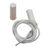 Satel SK2 Mágneses nyitásérzékelő, ragasztó és csavar nélkül süllyeszthető hengeres fehér műanyag házban