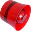 Global Fire VALKYRIECSBR hagyományos felületre szerelhető hang- és fényjelző aljzattal