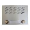 FARFISA ACI FARFISA FA/MD122 MODY előlap 2 nyomógombbal két oszlopos kivitelben