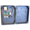 Proteco Q60RA kétmotoros vezérlés szárnyaskapukhoz, fixkódos rádióvevővel