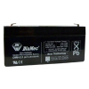 DIAMEC DM6-3.3 akkumulátor biztonságtechnikai rendszerekhez és elektromos játékokhoz