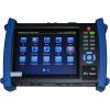 """Lemar SM 8600TVI 7""""-os IP / analóg / TURBO HD(TVI) CCTV teszter, 1024x600 felbontású kapacitív érintőképernyő, IP, LAN, PoE, PTZ"""