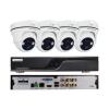 EuroVideo EVS-C04/DV720PA CVI szett, 1 db EVD-C04/50A1FH, 4 db EVC-TC-DV720PA