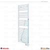 Atlantic RSS 2012 - 500 W Fürdőszobai törölközőszárító radiátor