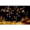 Karácsonyi rizsszem füzér IP44, kültérre is! 300 db meleg fehér leddel. 8 funkciós, villogtató memóriás vezérlővel. Life Light led ÚJ!