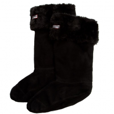 Hunter Hosszú női zokni HUNTER - Grizzly Cuff Welly Socks S23726 36-38 M BLK