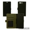 CELLECT Huawei Y6 II flip oldalra nyiló tok, Fekete
