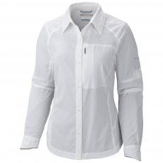 Columbia Silver Ridge Long Sleeve Shirt Ing,blúz D (1443231-p_100-White)