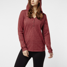 O'Neill LW Marly Long Sleeve Top Hosszú ujjú póló D (O-657130-p_3087-Sun-Dried Tomato)