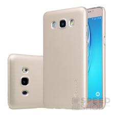 Nillkin Super Frosted hátlap tok Samsung J510 Galaxy J5 (2016), arany + ajándék kijelzővédő fólia tok és táska