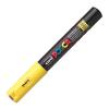 Dekormarker UNI POSCA PC-1M 0.7-1 mm, kúpos, SÁRGA