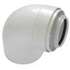Tricox PAKÖ601C könyök idom 90° PPs/Alu 80/125mm