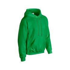 GILDAN bélelt kapucnis pulóver, írzöld
