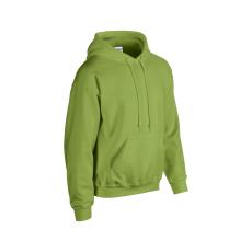 GILDAN bélelt kapucnis pulóver, kiwi