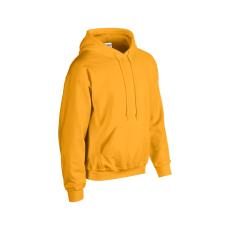 GILDAN bélelt kapucnis pulóver, gold
