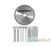 KÖRFŰRÉSZLAP GRAPHITE 57H660 160X30 Z 30 fűrészlap