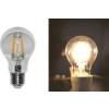 Lumen Ledes izzó COG Para E27 6W Átlátszó Meleg Fehér 2800k 230V - Lumen