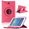 Samsung Galaxy Tab 4 7.0 SM-T230, mappa tok, elforgatható (360°), rózsaszín