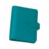 FILOFAX Kalendárium, gyűrűs, betétlapokkal, A5 méret, FILOFAX Saffiano, aquamarine