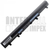 Acer Aspire E1-572PG 2200 mAh 4 cella fekete notebook/laptop akku/akkumulátor utángyártott
