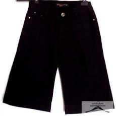 16 db Női fekete vászon térd nadrág méret: 26-30-as méretig (raktári porosodás előfordulhat illetve a fém patenteknél korrozió , kefével eltávolitható)