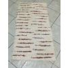 Nyers bordó beszövéses rongyszőnyeg 75x150cm/Cikksz:0510551