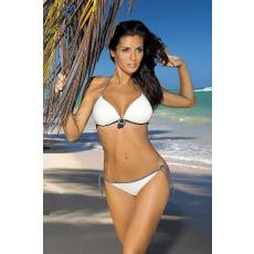 marko Bikini Megan Ecru + Brown M-251 ekrü-barna
