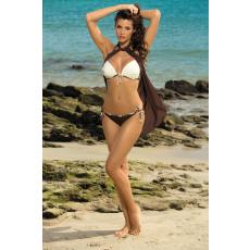 marko Bikini Paola Africa-Avorio M-303 barna-ekrü