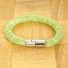 Yiwu Chanfar Jewelry Factory Egysoros hálós kristály karkötő - világos zöld