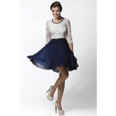 awama Női ruha A26 fehér-kék