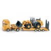 Siku Super truck with flat trailer and loader 1839