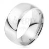 Karikagyűrű 316L acélból, fényes, sima felület, 8 mm