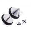Kúp alakú fake plug fülbe sebészeti acélból