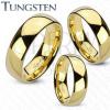 Karikagyűrűk - arany tungsten