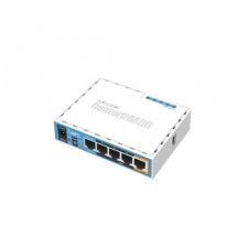MIKROTIK (RB952Ui-5ac2nD) hAP ac lite router, 4x 10/100 LAN, 2.4/5Ghz, wireless-b/g/n/ac, passzív PoE, USB router