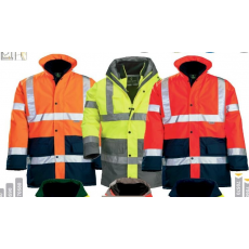 Coverguard 70549-584 Hi-way fluo kabát 4/1