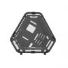 ID-Cooling Számítógépház - STREAM 2 (fekete, ablakos, 6xG1/4 csatlakozó és csövezés a vízhűtéshez, mATX, Aluminium)