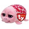 Ty. Plüss figura Teeny Tys SHUFFLER - rózsaszín teknős