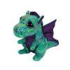 Ty. Plüss figura Beanie Boos 15 cm CINDER - zöld sárkány
