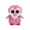 Ty. Plüss figura Beanie Boos 24 cm GLIDER - rózsaszín pingvin