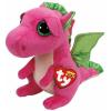 Ty. Plüss figura Beanie Boos 15 cm DARLA - rózsaszín sárkány