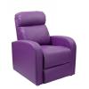 Félix luxus dönthető TV-néző fotel lila