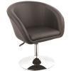 Gloria fotel, forgófotel, bárfotel fekete