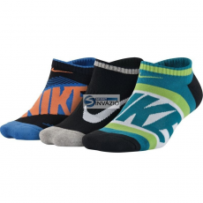Nike zokni Nike Youth Boy's Graphic Cotton Cush Junior 3pack SX5199-900
