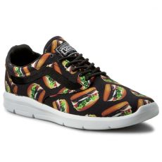 Vans Félcipő VANS - Iso 1.5 + VN0004O0IF9 (Late Night) Black/Hamburgers